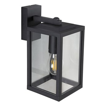 Lampa ogrodowa kinkiet elewacyjny GAIA T BLACK E27 czarny IP44 EDO777369 EDO Garden Line