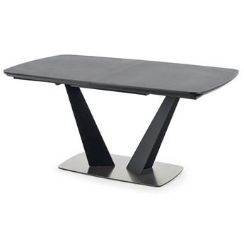Popielaty nowoczesny stół rozkładany - Kizo