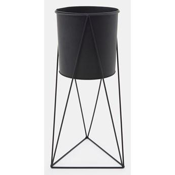 Sinsay - Osłonka doniczki ⌀ 20x50 - Czarny