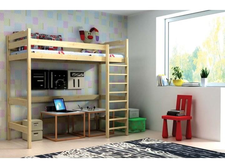 Łóżko antresola IGOR wiele rozmiarów i kolorów Łóżko na antresoli Drewno Kategoria Łóżka dla dzieci
