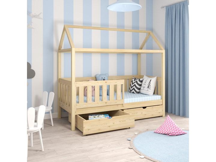 Łóżko pojedyncze MIESZKO I wiele rozmiarów i kolorów Kategoria Łóżka dla dzieci Domki Kolor Beżowy