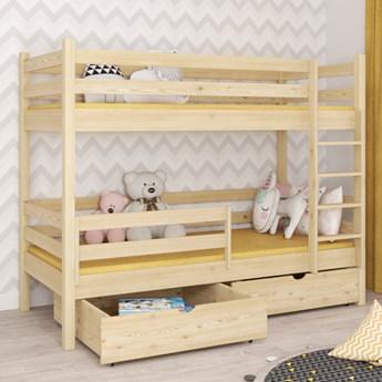 Łóżko piętrowe DAWID wiele rozmiarów i kolorów