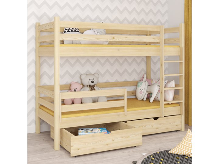 Łóżko piętrowe DAWID wiele rozmiarów i kolorów Kategoria Łóżka dla dzieci Kolor Szary