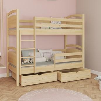 Łóżko piętrowe MONIKA wiele rozmiarów i kolorów