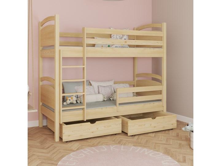 Łóżko piętrowe MONIKA wiele rozmiarów i kolorów Kategoria Łóżka dla dzieci Kolor Szary