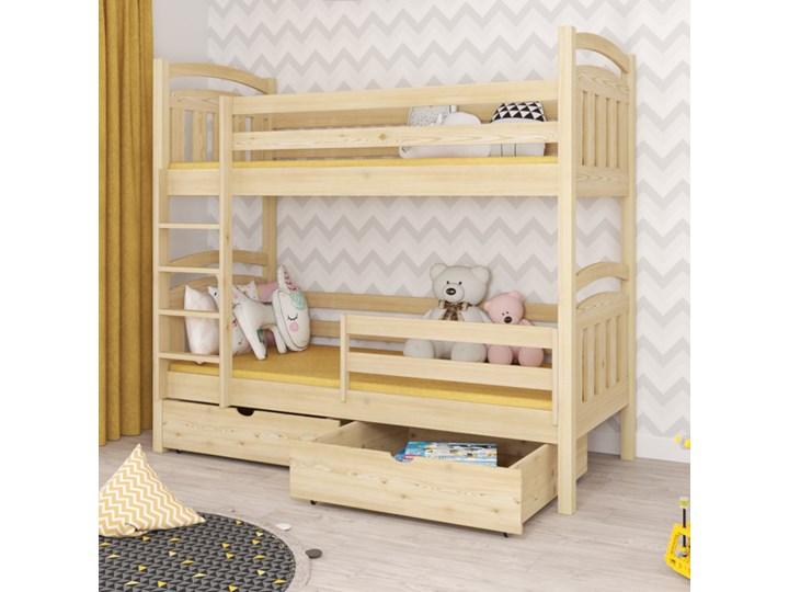 Łóżko piętrowe PIOTR wiele rozmiarów i kolorów Kategoria Łóżka dla dzieci Kolor Szary