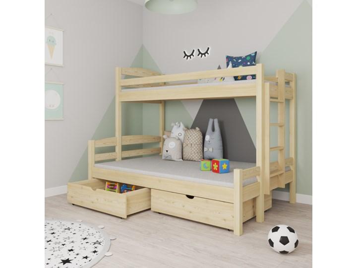 Łóżko piętrowe 3-osobowe SAMOS wiele rozmiarów i kolorów Kategoria Łóżka dla dzieci
