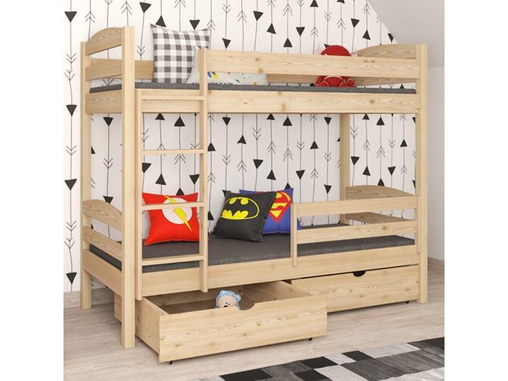 Łóżko piętrowe OSKAR wiele rozmiarów i kolorów