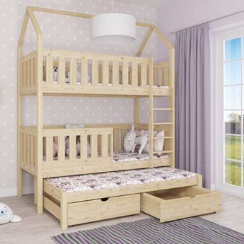 Łóżko piętrowe MIESZKO III wiele rozmiarów i kolorów