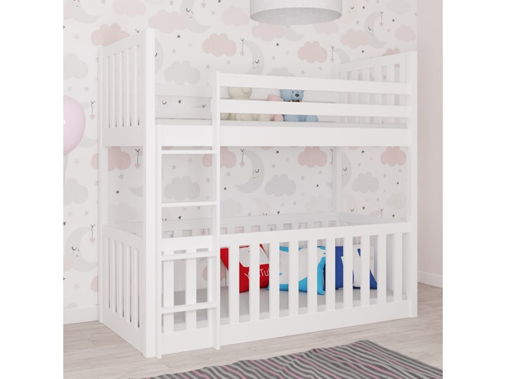 Łóżko piętrowe MIKOLAJ wiele rozmiarów i kolorów Drewno Kategoria Łóżka dla dzieci