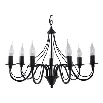 Czarny żyrandolo Nice Lamps Floriano 7