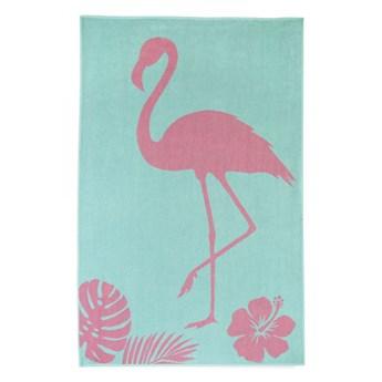 Ręcznik bawełniany plażowy 100x160 Wakacje Flaming, Zwoltex