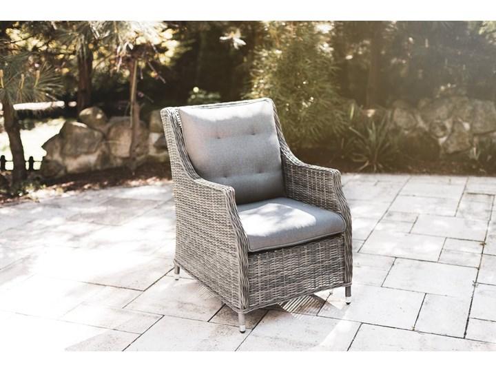 Zestaw mebli ogrodowych SIENA II royal szary Zawartość zestawu Stół Zestawy wypoczynkowe Aluminium Rattan Tworzywo sztuczne Technorattan Zawartość zestawu Fotele