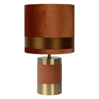 Lucide 10500/81/43 - Lampa stołowa EXTRAVAGANZA FRIZZLE 1xE14/40W/230V brązowa