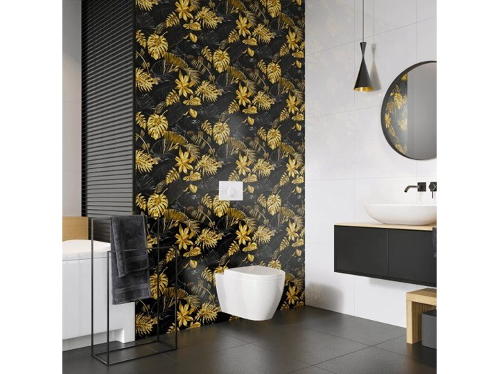 Dekor Beano Ceramstic 60 x 60 cm arbo 60x60 cm Płytka dekoracyjna Płytki ścienne Płytki podłogowe Płytki kuchenne Kwadrat Kolor Żółty