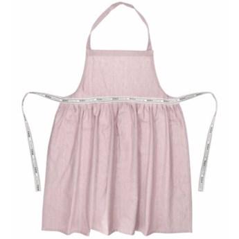 Fartuch kuchenny DUKA ORIGIN 85x65 cm różowy bawełna
