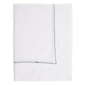 Obrus prostokątny DUKA RIVIERA 180x150 cm biały niebieski bawełna