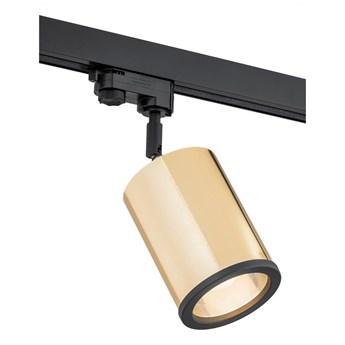 Argon 4303 - Oświetlenie punktowe do systemu szynowego DELF 1xE27/15W/230V mosiądz