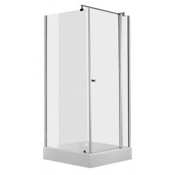 Deante Cubic kabina prysznicowa kwadratowa 90 cm KTI 043P