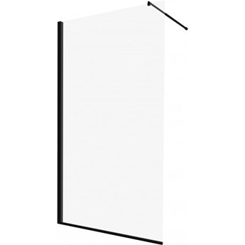 Deante Abelia ścianka wolnostojąca Walk-in 120 cm czarna KTA N31P