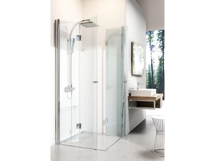 Deante Kerria kabina prysznicowa kwadratowa 80 cm KTK 042P Szerokość 90 cm Wysokość 200 cm Brodzik Bez brodzika