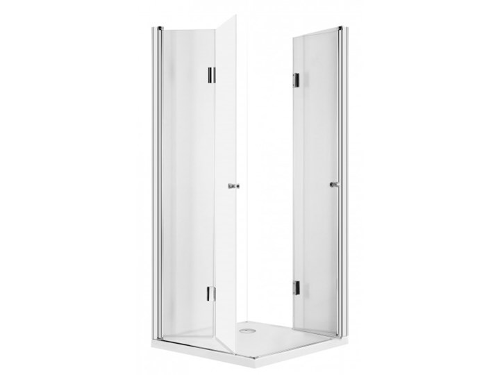 Deante Kerria kabina prysznicowa kwadratowa 100 cm KTK 043P Wysokość 200 cm Rodzaj drzwi Składane Brodzik Bez brodzika