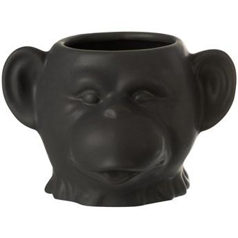 Doniczka Monkey 15x9 cm czarna