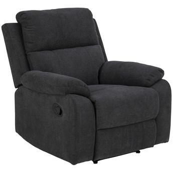 Fotel rozkładany Mora 90x98 cm manual recliner ciemnoszary