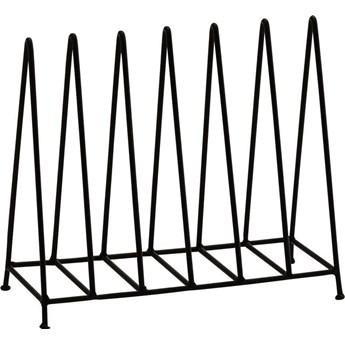 Gazetnik Sollema 18x15 cm czarny