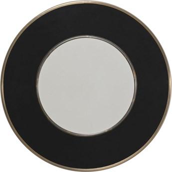 Lustro Lens Ø60 cm czarne