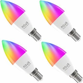 Inteligentna żarówka LED NOUS P4 4.5W E14 Wi-Fi (4 szt.)