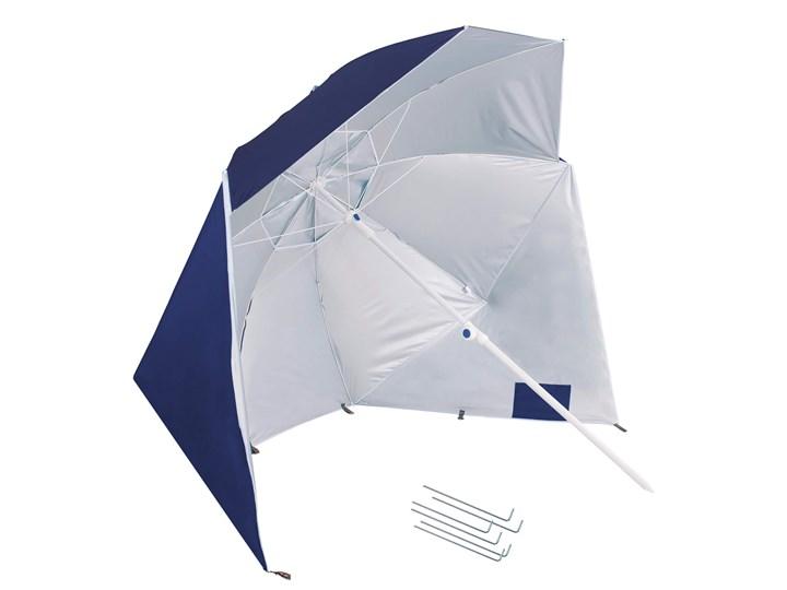 Parasol plażowy namiot parasol ogrodowy ciemnoniebieski