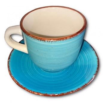 Filiżanka do herbaty Art & Pepper 250 ml, niebieska