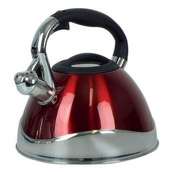 Kela - Varus - czajnik z gwizdkiem, 3,00 l, czerwony