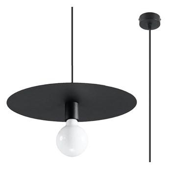Czarna loftowa lampa wisząca kapelusz - EXX235-Flavis