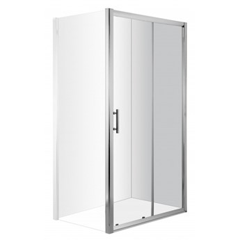 Deante Cynia drzwi prysznicowe przesuwne 140 cm KTC 014P