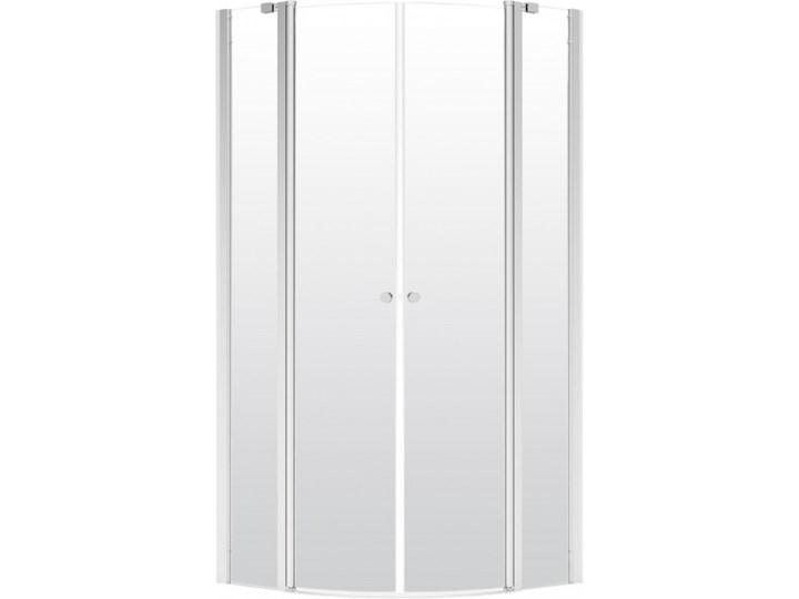 Deante Alpinia kabina prysznicowa półokrągła 90 cm KGA 051P Rodzaj drzwi Uchylne Narożna Wysokość 195 cm Brodzik Bez brodzika