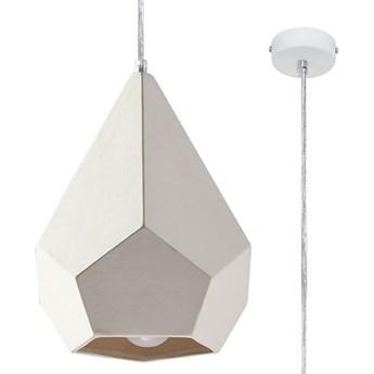 Biała geometryczna lampa wisząca - EXX238-Pavlis