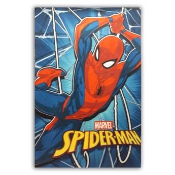 Kocyk dziecięcy 100x140 Spiderman kolor niebieski, Setino