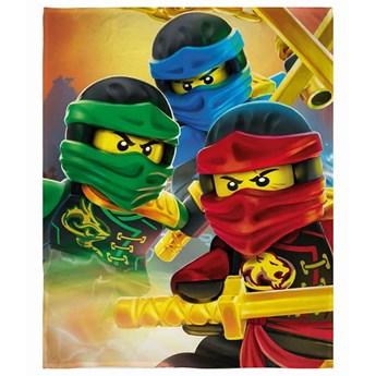 Kocyk dziecięcy 130x170 Lego Ninjago, Halantex