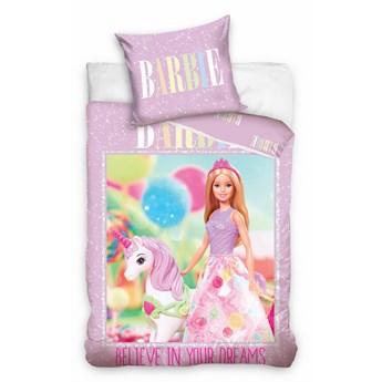 Pościel bawełniana 135x200 Barbie, Carbotex