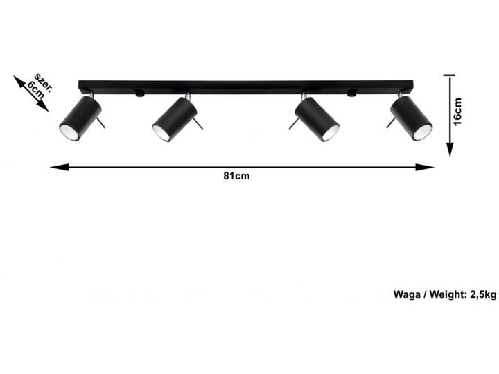 Oprawa natynkowa RING 4L czarna SL.0332 SOLLUX SL.0332 | SPRAWDŹ RABAT W KOSZYKU ! Oprawa stropowa Oprawa led Kolor Czarny Kategoria Oprawy oświetleniowe