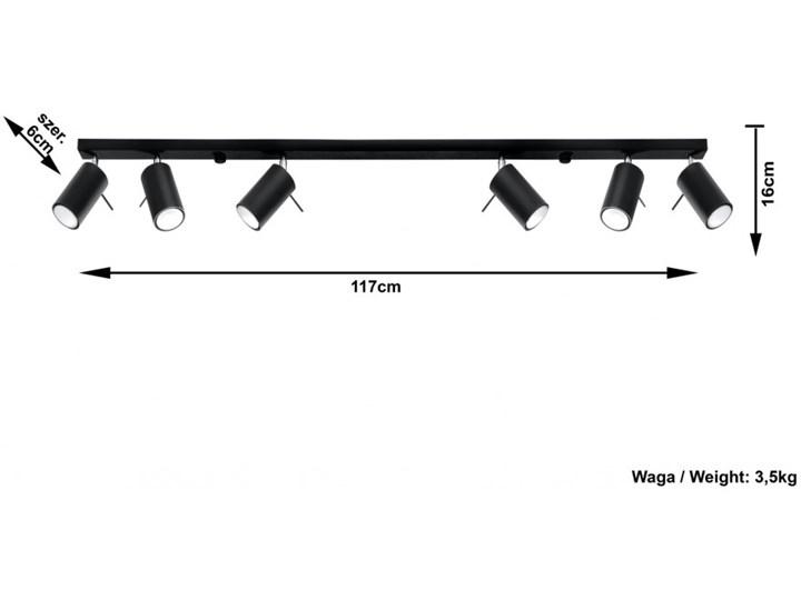 Oprawa natynkowa RING 6L czarna SL.0334 SOLLUX SL.0334   SPRAWDŹ RABAT W KOSZYKU ! Oprawa led Kolor Czarny Oprawa stropowa Kategoria Oprawy oświetleniowe