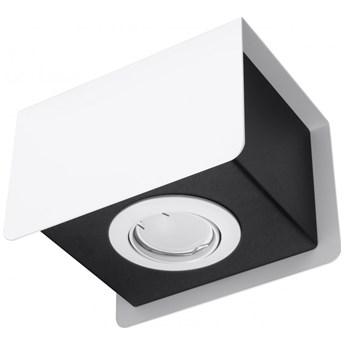 Oprawa natynkowa STEREO 1 biała/czarna SL.0405 SOLLUX SL.0405 | SPRAWDŹ RABAT W KOSZYKU !