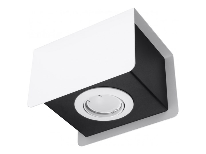 Oprawa natynkowa STEREO 1 biała/czarna SL.0405 SOLLUX SL.0405