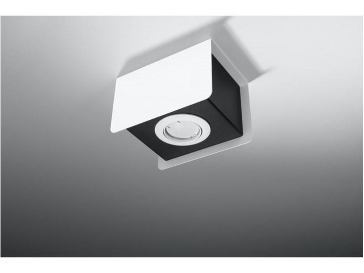 Oprawa natynkowa STEREO 1 biała/czarna SL.0405 SOLLUX SL.0405   SPRAWDŹ RABAT W KOSZYKU ! Oprawa led Oprawa stropowa Kolor Biały Kolor Czarny