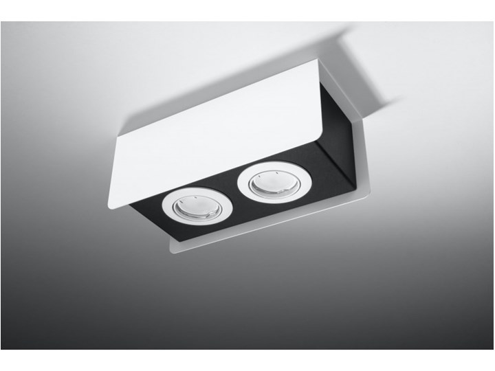 Oprawa natynkowa STEREO 2 biała/czarna SL.0406 SOLLUX SL.0406 | SPRAWDŹ RABAT W KOSZYKU ! Oprawa stropowa Oprawa led Kolor Biały