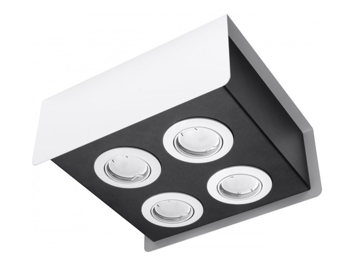 Oprawa natynkowa STEREO 4 biała/czarna SL.0408 SOLLUX SL.0408 | SPRAWDŹ RABAT W KOSZYKU ! Oprawa led Oprawa stropowa Kolor Biały Kolor Czarny