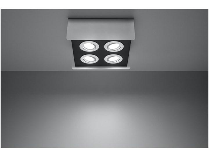 Oprawa natynkowa STEREO 4 biała/czarna SL.0408 SOLLUX SL.0408 | SPRAWDŹ RABAT W KOSZYKU ! Oprawa led Oprawa stropowa Kolor Czarny