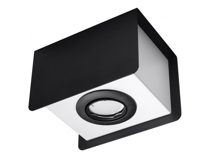 Oprawa natynkowa STEREO 1 czarna/biała SL.0409 SOLLUX SL.0409 | SPRAWDŹ RABAT W KOSZYKU ! Oprawa led Oprawa stropowa Kolor Czarny